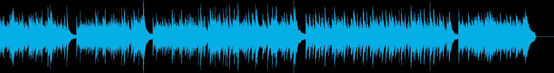 ピアノメインの疾走感ある切ないトランスの再生済みの波形