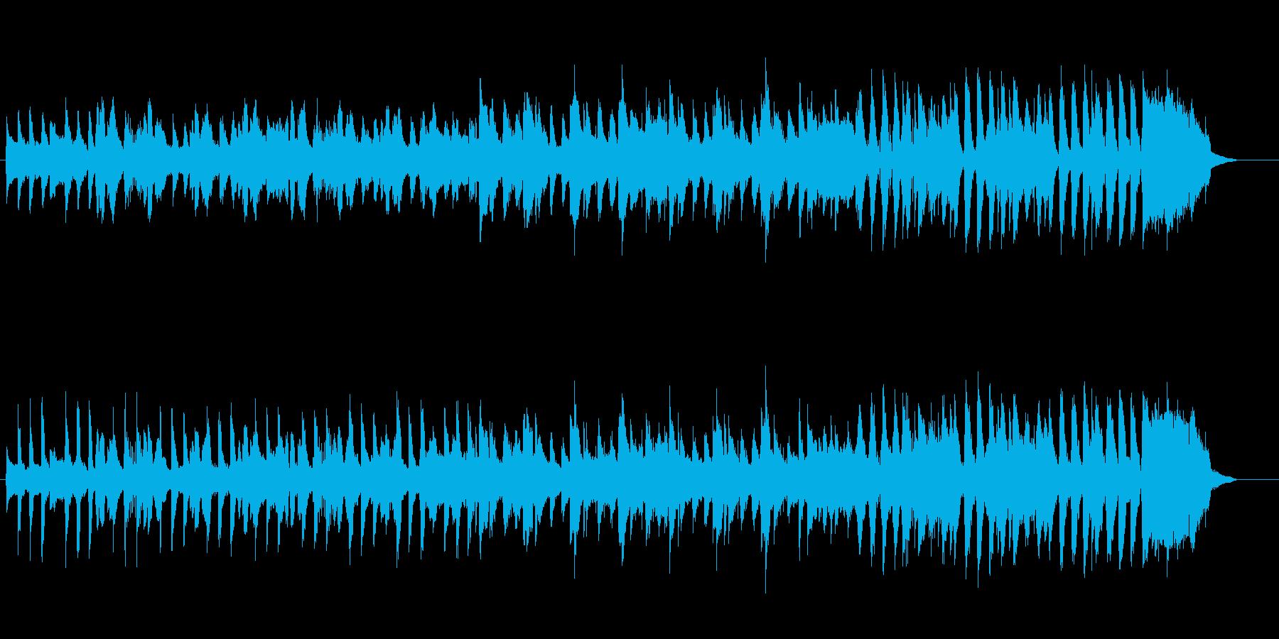 ほっこり かわいい ほのぼの 口笛BGMの再生済みの波形