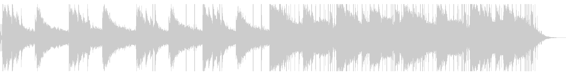 リラックス・ヒップホップ_No392_2の未再生の波形
