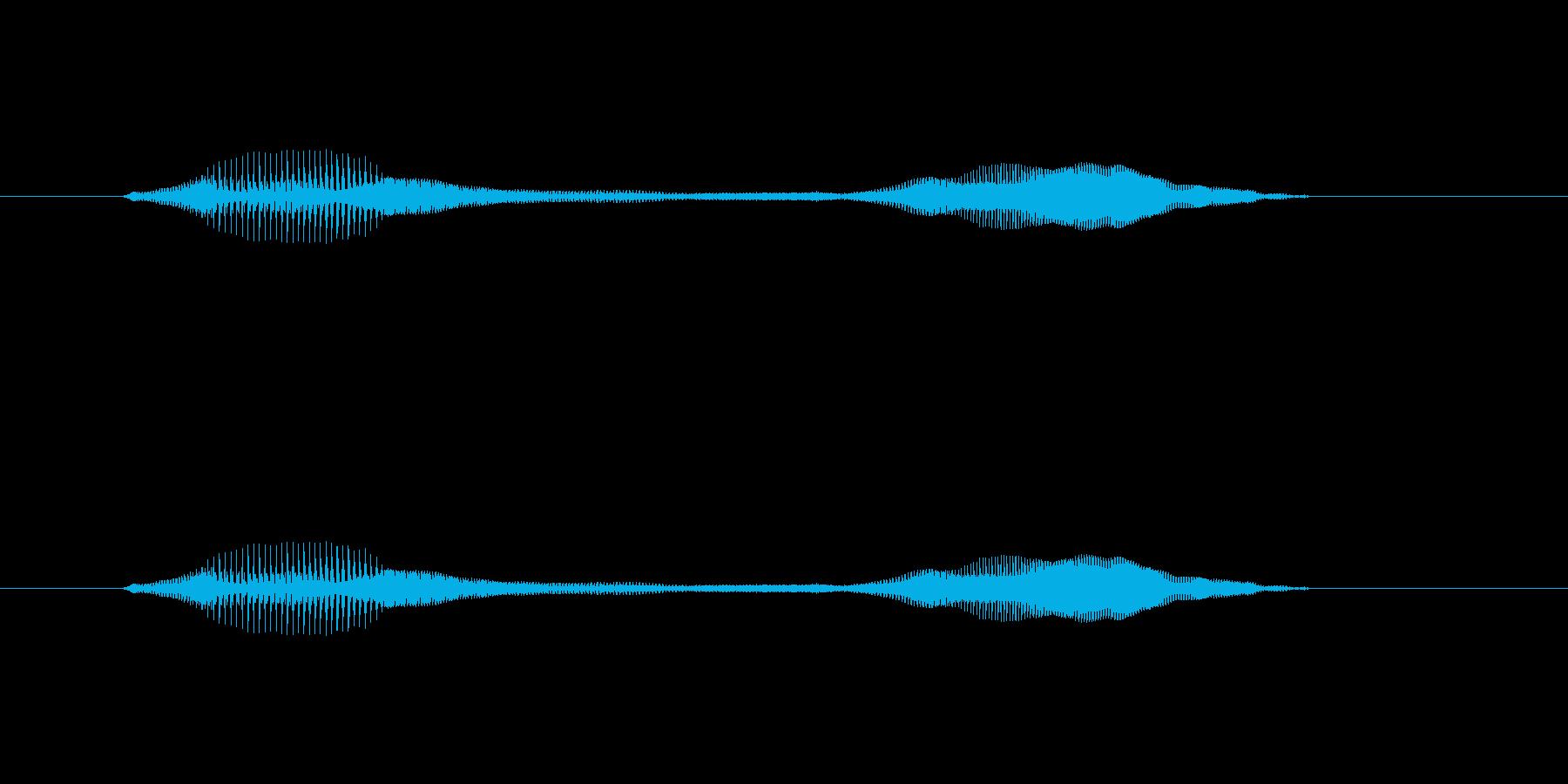 ニャー_猫声-27の再生済みの波形