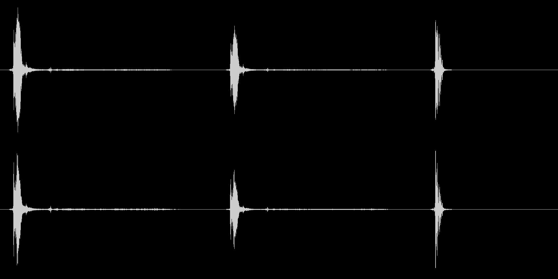 M-1タンクキャノン:リコイル(内...の未再生の波形