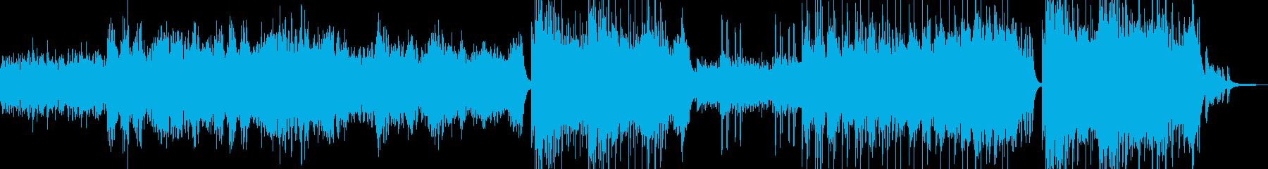 異世界・故人を想う雰 後半ドラム有 長尺の再生済みの波形
