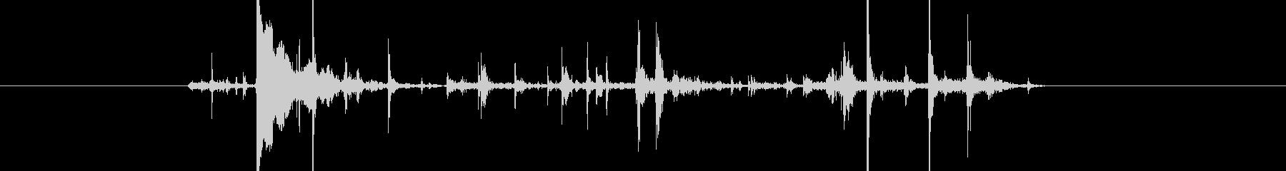 水音44の未再生の波形
