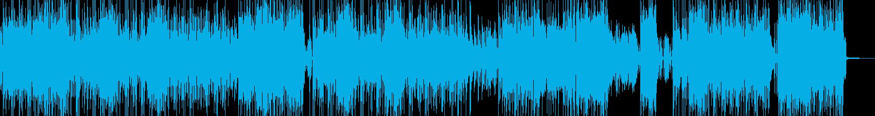 和楽器・おバカな雰囲気溢れるポップ Aの再生済みの波形