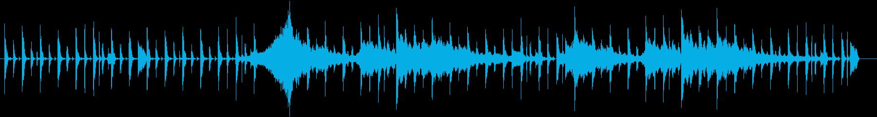 【生演奏エレキ】カフェや放送BGMとしての再生済みの波形
