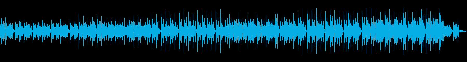 ファンタジックなポップスの再生済みの波形