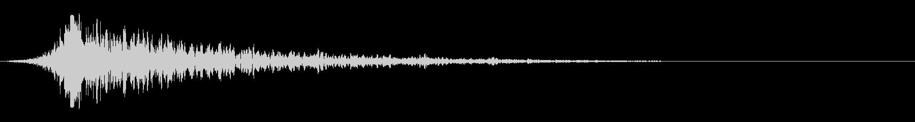 シュードーン-25-1(インパクト音)の未再生の波形