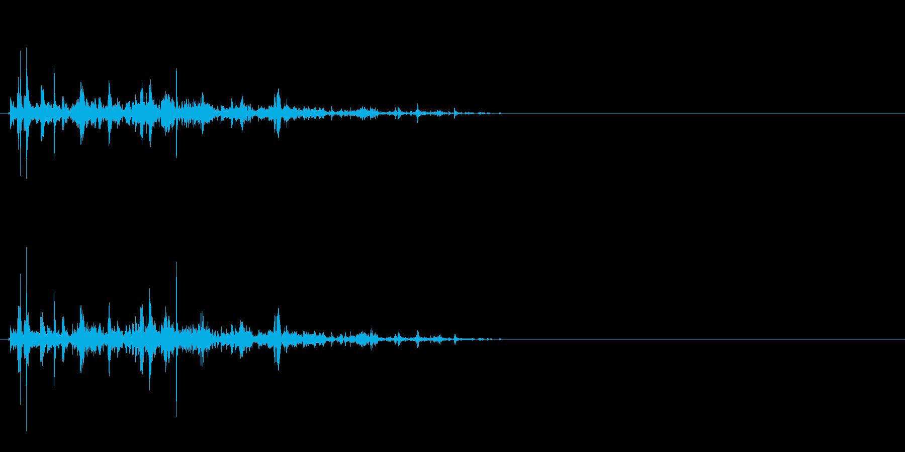 氷 かき混ぜる音の再生済みの波形