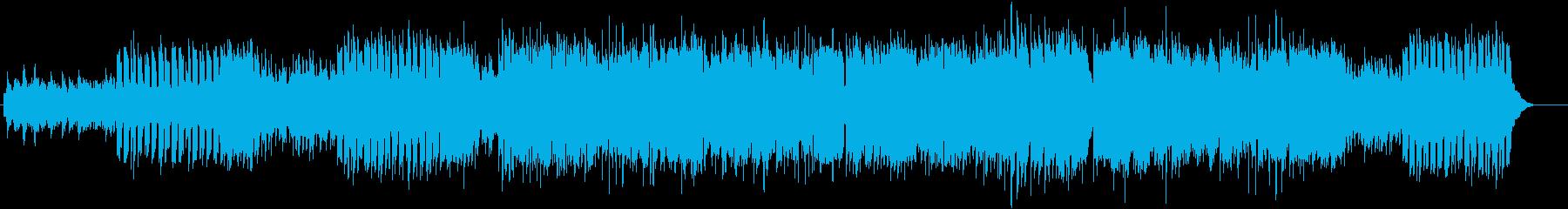 ティンホイッスルを使った爽やかなケルト曲の再生済みの波形