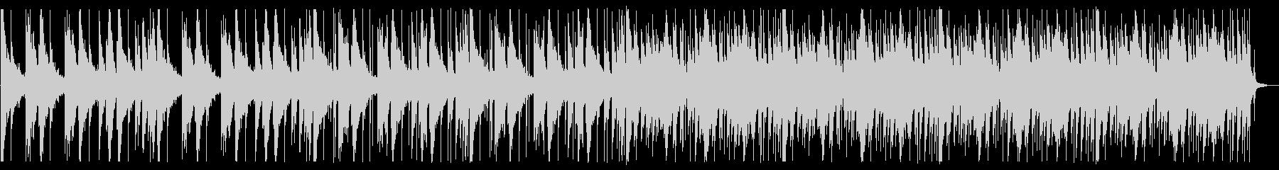 落ち着いたピコピコとしたBGM_3の未再生の波形