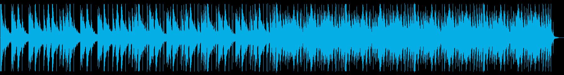 落ち着いたピコピコとしたBGM_3の再生済みの波形