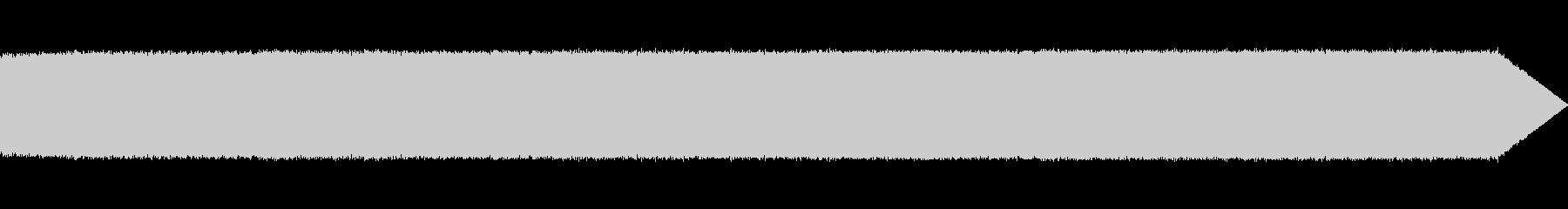 マイクロギターアンプの駆動ノイズ01の未再生の波形