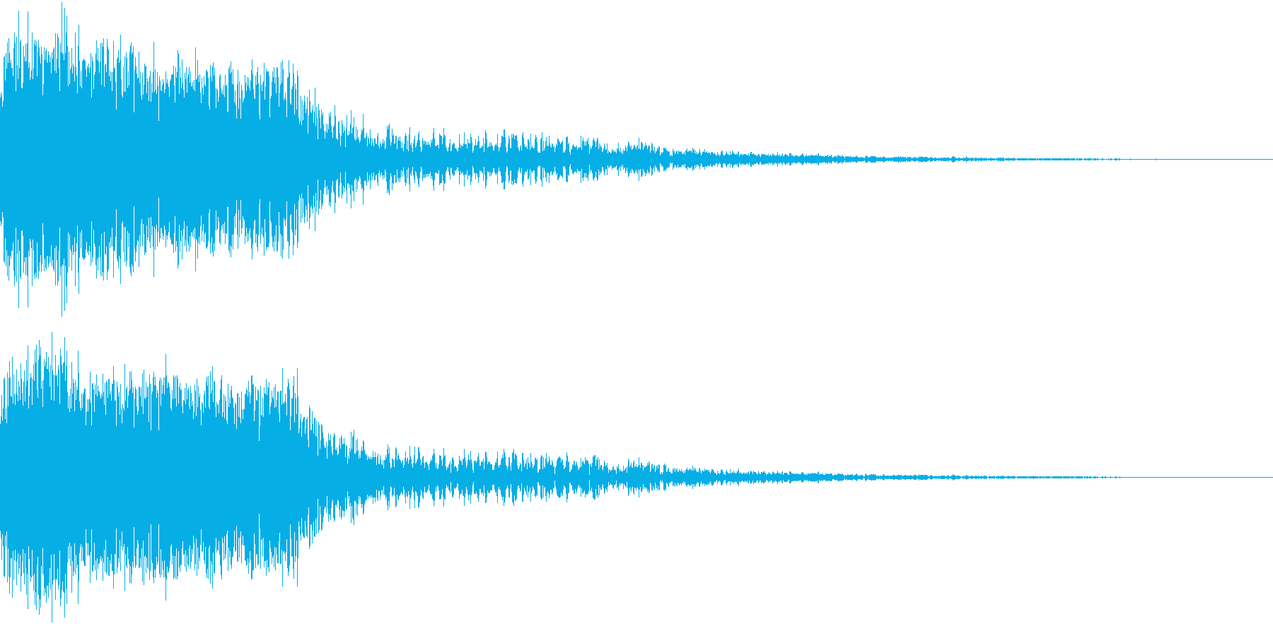 衝撃 金属音 恐怖 震撼 ホラー 23の再生済みの波形
