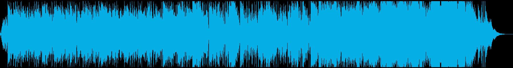 生演奏・もろびとこぞりてジャズゴスペルの再生済みの波形