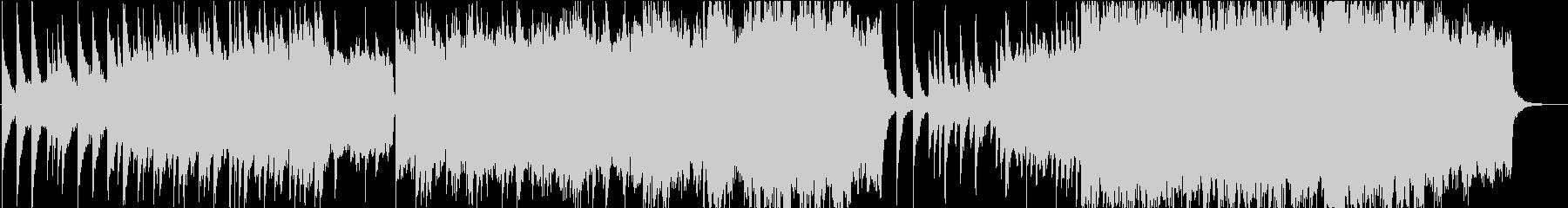 ピアノ主旋律のレクイエムの未再生の波形