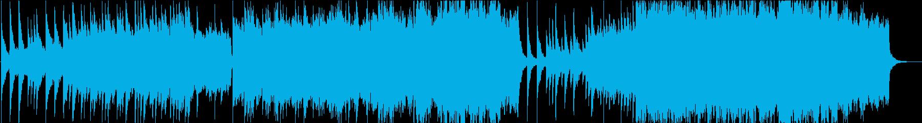 ピアノ主旋律のレクイエムの再生済みの波形
