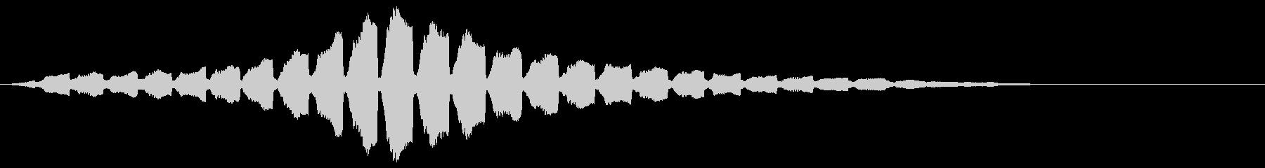 「サイレン」救急車/緊急_002の未再生の波形