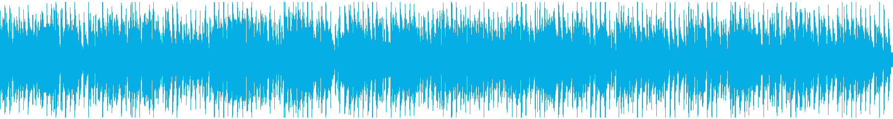 ノリノリで明るいクラブジャズ ※ループ版の再生済みの波形