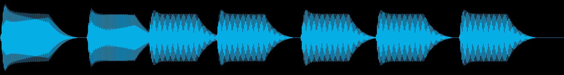 往年のRPG風 セリフ・吹き出し音 13の再生済みの波形