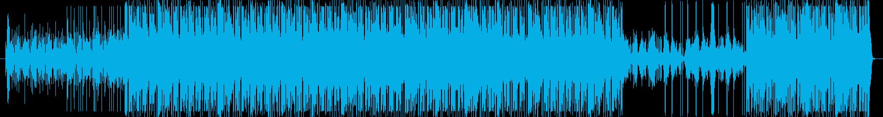 アクションアドベンチャーの音楽キュー。の再生済みの波形