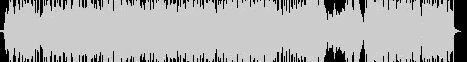 アニメ主題歌風のクールなロック_女性Voの未再生の波形