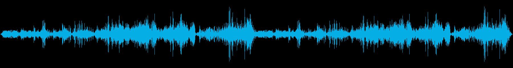 ボブスレー:オンボード、アイススク...の再生済みの波形