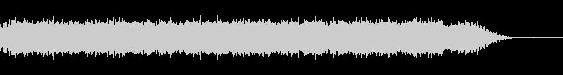 神秘的なピアノ・アンビエントの未再生の波形