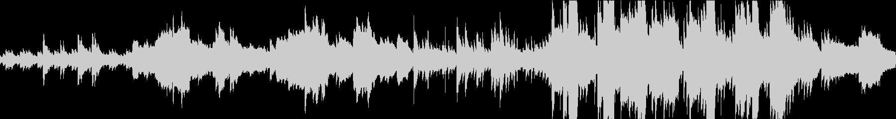ケルティックなファンタジーBGMの未再生の波形