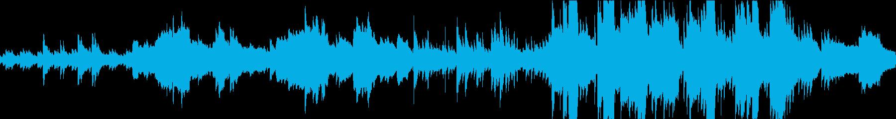 ケルティックなファンタジーBGMの再生済みの波形