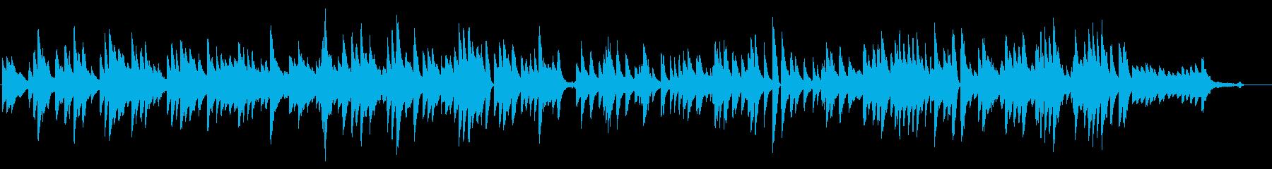 卒業・落ち着いたヒーリング系ピアノソロ曲の再生済みの波形