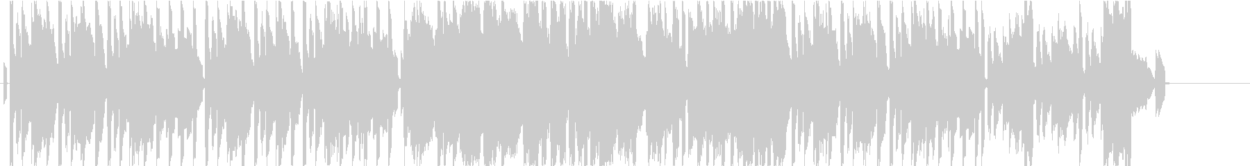 ハーモニカとエレピの爽やかなBGMの未再生の波形