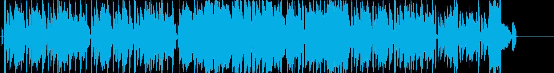 ハーモニカとエレピの爽やかなBGMの再生済みの波形