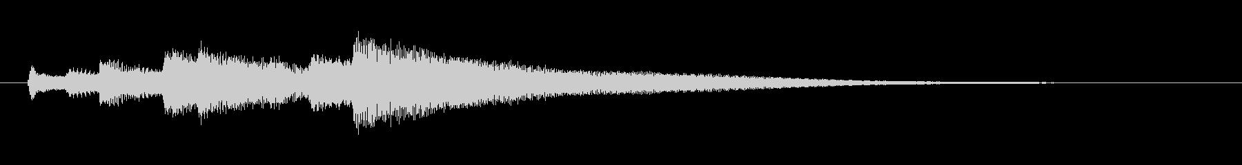 柔らかく爽やかなギターサウンドロゴ。の未再生の波形
