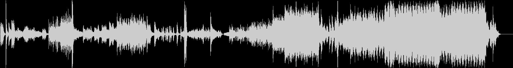 現代の交響曲 劇的な 神経質 ファ...の未再生の波形