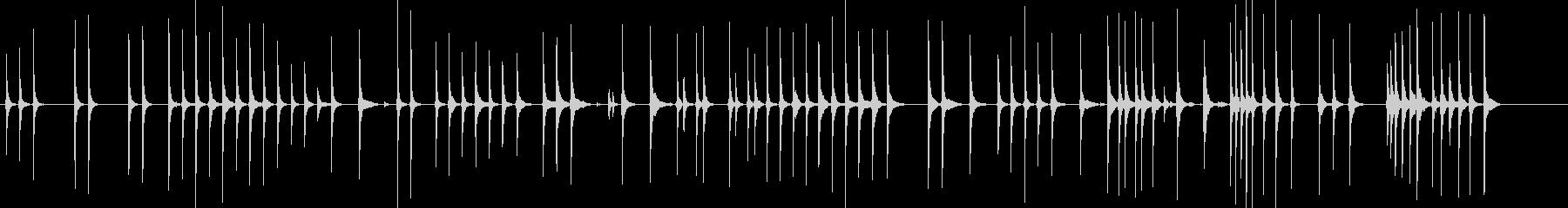 三味線72鷺娘3吹けど生音歌舞伎妖怪鷺雪の未再生の波形