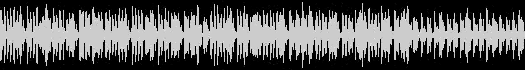 ダーク・夜・速いジプシージャズ(ループの未再生の波形