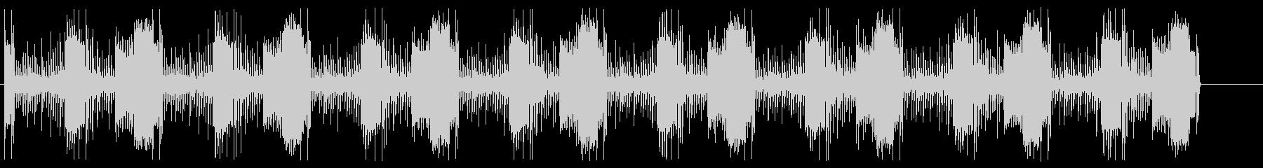 ドラムとベースとシンセ 緊迫ループBGMの未再生の波形