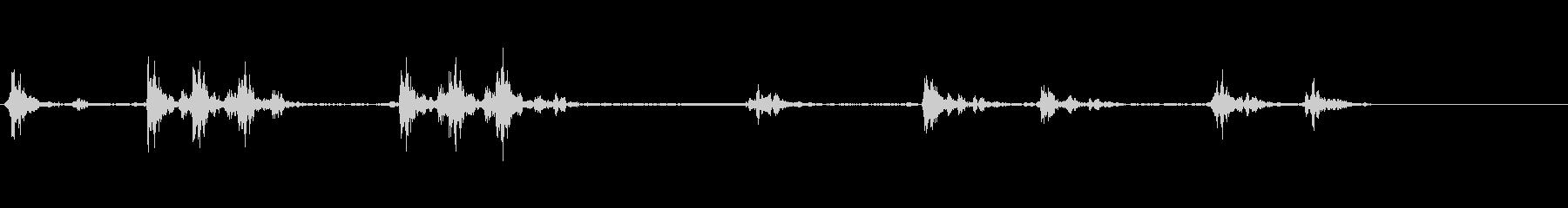 カーペダルストンプ;いろいろの未再生の波形