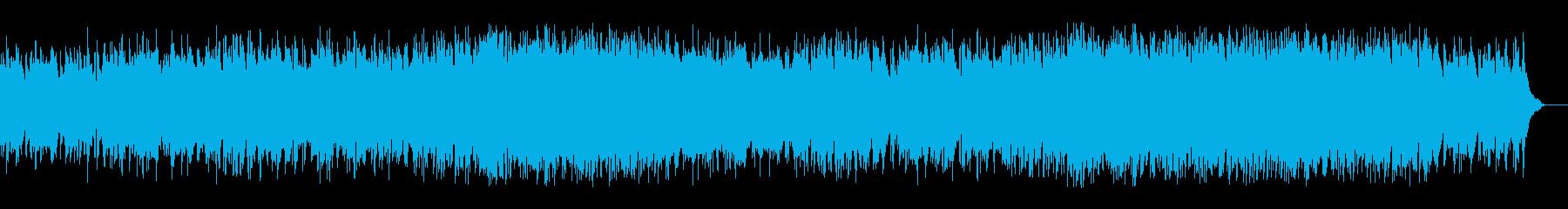 安心感ある暖かいバラード(フルサイズ)の再生済みの波形