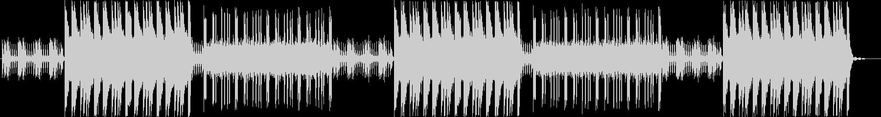 重厚感溢れる不気味なピアノBGMの未再生の波形