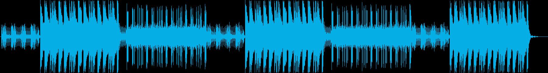 重厚感溢れる不気味なピアノBGMの再生済みの波形