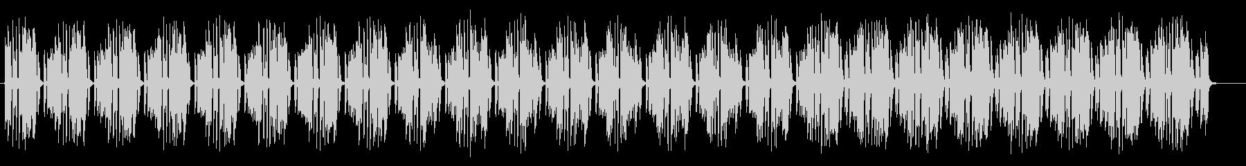 軽快で幻想的なスピリチュアルサウンドの未再生の波形