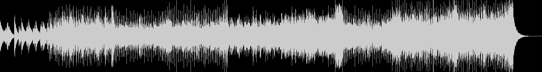 ピアノ主体のレトロディスコの未再生の波形
