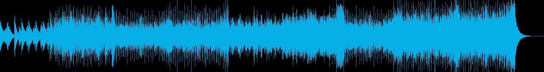 ピアノ主体のレトロディスコの再生済みの波形