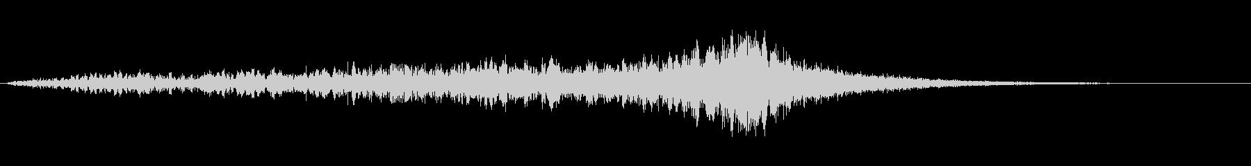 ホラー系効果音14の未再生の波形