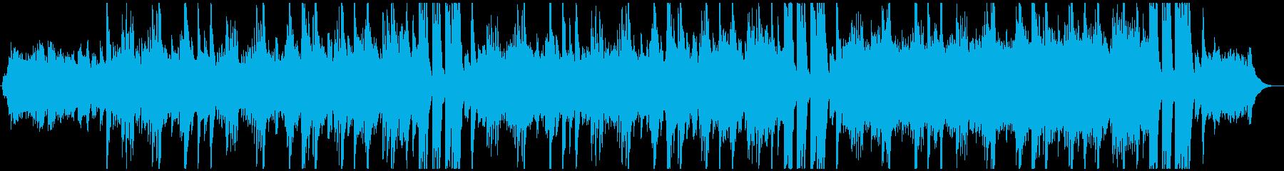 優しく可愛らしいクリスマスBGMの再生済みの波形