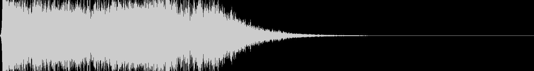 煽り用の効果音(ドシューン)の未再生の波形