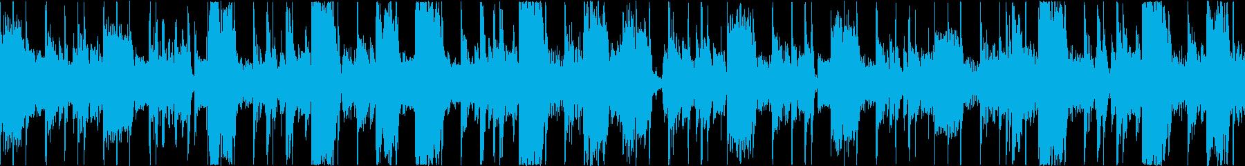 クールでゆったりとしたファンクの再生済みの波形