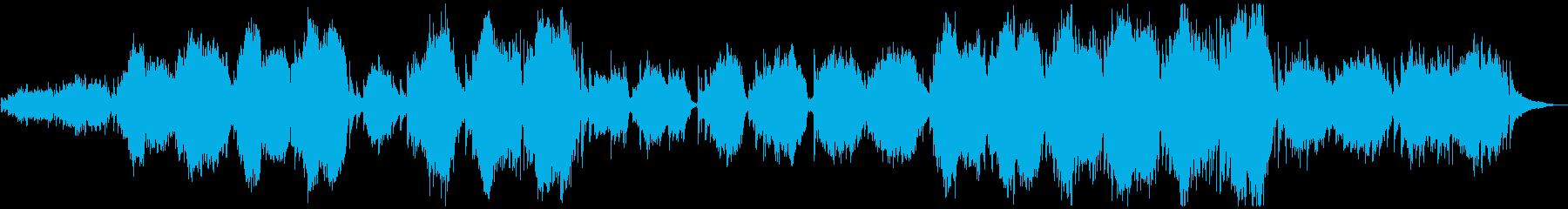 喪失感・寂寥感にじむ劇版的オーケストラ曲の再生済みの波形