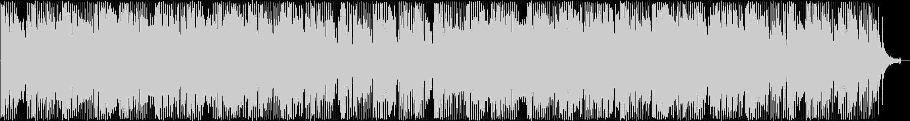優しいシンセサイザーサウンドの未再生の波形
